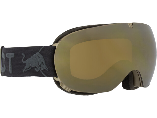 Red Bull SPECT Magnetron Ace Lunettes de protection, gold/gold snow